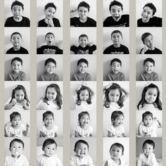 Photobooth collage of the grandkids for Mothers Day :), via Flickr.