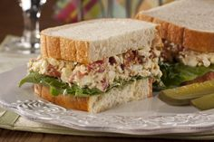 When you're craving the ultimate summer sandwich, this BLT Egg Salad Sandwich will do the trick. Serve it with some pickles and chips and you're all set!