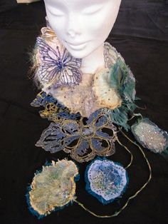 South Craven School- GCSE Textiles: Egyptian Jewellery Project