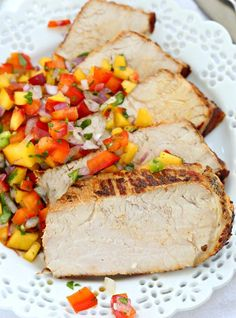 grilled pork loin with peach salsa recipe 3