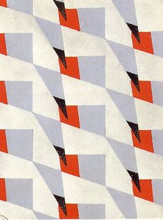 Elise Djo-Bourgeois, 1928 (Wouldn't this look great as a printed fabric?)