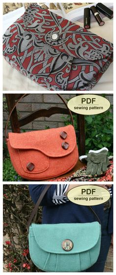Named after the Suffolk village where my father grew up during WWII, the Boxford Clutch Bags PDF sewing pattern offers a pair of clutch bags typical of the styles of the 1940s.