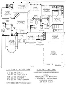 Ranch House Plans With Split Bedrooms further Single Bedroom also 2 Bedroom House Plans furthermore  additionally Side Split Home Design. on ranch home plans with 4 car garage