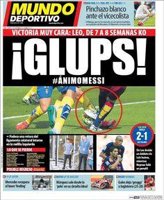 Portada del periódico Mundo Deportivo, domingo 27 de septiembre de 2015