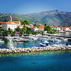 Orebic, Croatia. Orebić is a port town and municipality in the Dubrovnik-Neretva county. It is located on the Pelješac peninsula on the Dalmatian coast.