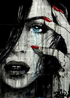 "Saatchi Art Artist Loui Jover; Drawing, ""seen"" #art"