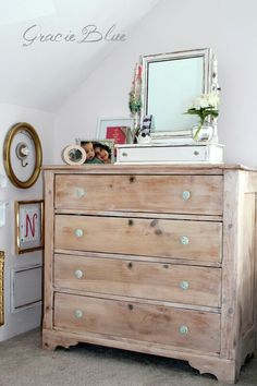 Antique Pine Dresser {the reveal} - Furniture Daily Furniture Update, Furniture Projects, Furniture Making, Furniture Makeover, Cool Furniture, Painted Furniture, Rustic Pine Furniture, Natural Wood Furniture, Handmade Furniture