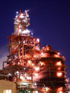 工場夜景 olympus
