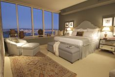 Luxury Master Bedrooms   Master Bedroom in Residence 52B by Owen Design Associates
