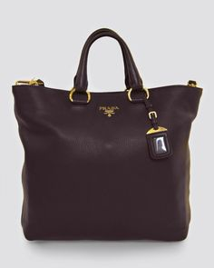 Prada Vitello Daino Shopping Tote Miu Miu Handbags 668908b15bddd