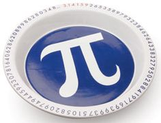 pi plate (for Pi Day?)