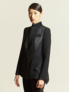 Contrast Panel Jacket   Givenchy