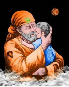 Mother's day There is no safer place , than my arms :Sai Baba Happy mother's day Mahakal Shiva, Lord Shiva, Krishna, Sai Baba Miracles, Sai Baba Pictures, Sai Baba Quotes, Sai Baba Wallpapers, Sathya Sai Baba, Baba Image
