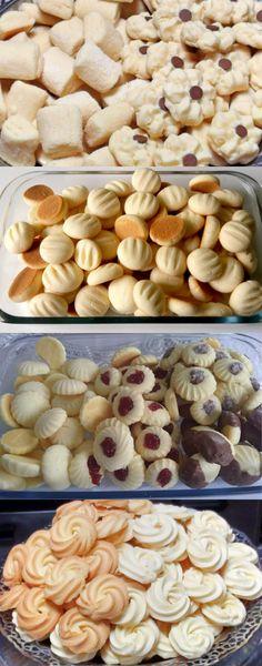 HOJE FIZ BISCOITINHOS DE LEITE CONDENSADO QUE DERRETEM NA BOCA! EU AMO, NÃO TEM NADA MAIS GOSTOSO!!! Brownie Cookies, Cupcake Cookies, Woopie Pies, Biscuits, Muffins, Cookie Recipes, Stuffed Mushrooms, Food And Drink, Pasta