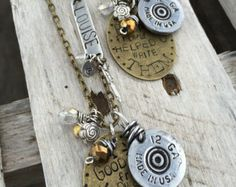 Thelma & Louise Inspired BFF Rustic necklace Set