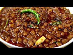 dark and appetizing amritsari chole with Tea and baking soda. Methi Recipes, Veg Recipes, Indian Food Recipes, Asian Recipes, Cooking Recipes, Recipies, Chhole Recipe, Chana Masala, Kitchens