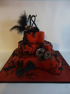 Gothic birthday  Cake by Diletta Contaldo