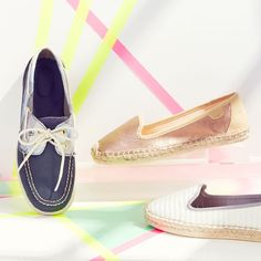 Kick off summer with a pair of boat shoes, we love Sperry Top-Siders.
