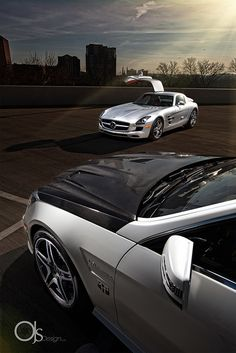 MHP Mayhem // Modern Horsepower Mercedes SLS & E63 AMG, via Flickr.