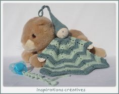 doudou lutin au crochet (free pattern)