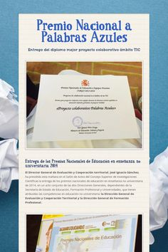Premio Nacional a Palabras Azules