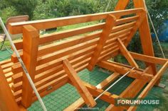 Yard Swing, Diy Swing, Swing Seat, Diy Furniture Plans, Bed Furniture, Home Decor Furniture, Outdoor Furniture, Outdoor Projects, Wood Projects