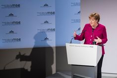 The Trump administration manages to turn Germans into Gaullists, ready to flirt with Russia and contemplate strategic independence. Security Conference, Nuclear Force, Israel Palestine, Mike Pence, Get To Know Me, Munich, Vulnerability, Climate Change, Flirting