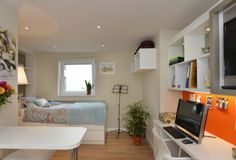 Student Accommodation - London Studio Camden Twin ($269 (this is not the room) really cute, dance studio) ****************