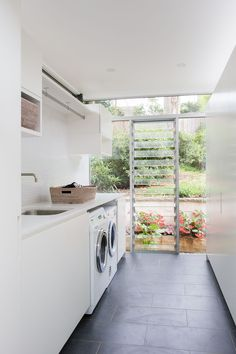 29 Laundry Room Decor Ideas That'll Make You Want to Do Laundry www. 29 Laundry Room Decor Ideas That'll Make You Want to Do Laundry www.possibledeco… 29 Laundry Room Decor Ideas That'll Make You Want to Do Laundry www. Laundry Room Cabinets, Laundry Room Organization, Laundry In Bathroom, Laundry Decor, Laundry Closet, Laundry Storage, Organization Ideas, Basement Laundry, Bathroom Signs