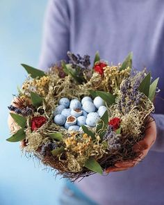 Chocolate Truffled Eggs in a Nest (Williams-Sonoma)