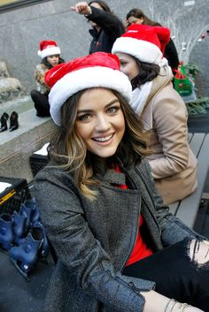 Lucy Hale looks so stylish and cozy. | Pretty Little Liars | ABC Family