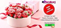 Online Flowers, Cake, Chocolate Delivery in India.  Myfloralkart.com offers  Online flowers delivery in India. Order now Flowers online in India with an option of Midnight flowers delivery & Same day flowers delivery. #flowers #cakes #chocolate #giftideas   Contact: +91-9899886258