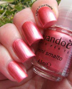 Quando è mini rosa perlato  #nails #nailpolish #pink #pearl #rosa #smalto #unghie #quandoè #tigotà #perla