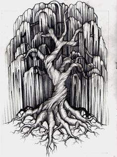 Willow Tree Tattoo by ~aluc23 on deviantART