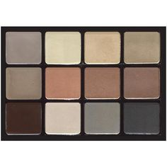 Viseart 12-Color Brow and Eyeshadow Palette
