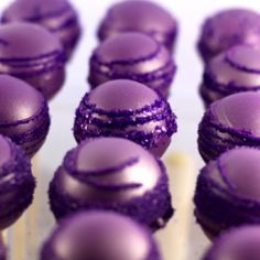 Purple cake balls I found on pinterest before I was invited. Searching for recipe!