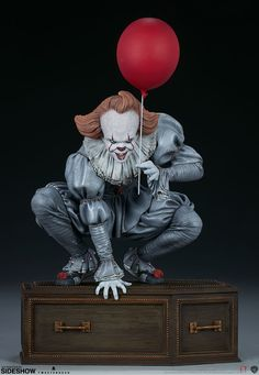 Joker Clown, Pennywise The Dancing Clown, It Pennywise, Scary Movies, Horror Movies, Its 2017, Horror Decor, Red Balloon, Toy Collector