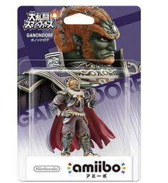 Amiibo Ganondorf Smash Bros The legend of Zelda Japan Nintendo 3DS Wii U F/S #Nintendo
