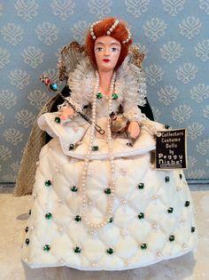 England~Peggy Nisbet Queen Elizabeth I ~ Collection of Rebekah Myers Dunford
