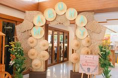 Seth's birthday bash is filled with all things Filipino from the entrance to the party favors! Birthday Bash, First Birthday Parties, Birthday Party Themes, First Birthdays, Birthday Ideas, Paskong Pinoy, Fiesta Theme Party, Party Favors, Entrance