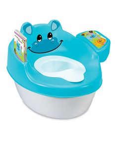 Blue 3-in-1 Hippo Tales Training Toilet - $16.99