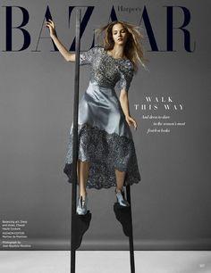 Sasha Luss by Jean-Baptiste Mondino for Harper's Bazaar US November 2015 - Chanel Fall 2015 Haute Couture