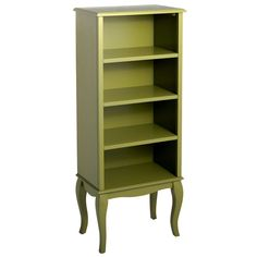 Toscana Tall Bookcase Moss Green Pier 1 Imports