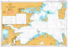 British Admiralty Nautical Chart 2591: Approaches to Horsens, Vejle and Fredericia