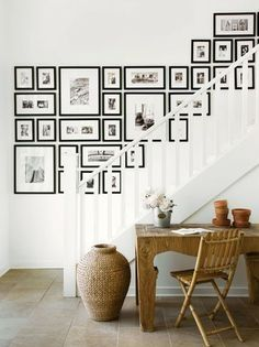 Your staircase may be narrow and pokey but that doesn't mean it shouldn't get some decorating love. With these decorating ideas, you won't be short on inspiration to add some personality and style to your entryway.