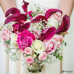 Wedding photo - a bouquet