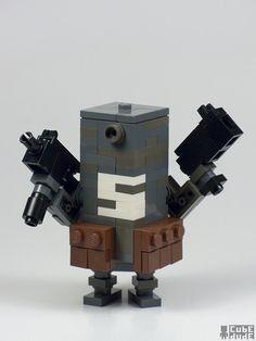 My take on a Ashley Wood Bertie robot.