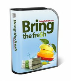 I'm here to give you my full review of Bring The Fresh, and I guess your question would be is Bring The Fresh a scam? Come get my honest opinion