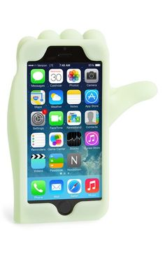 MARC BY MARC JACOBS 'Thumbs Up' Glow in the Dark iPhone 6 Case available at #Nordstrom