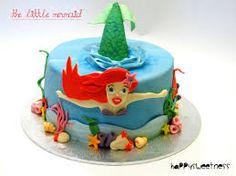 Resultado de imagen para pastel de la sirenita